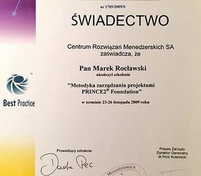 Certyfikat 41