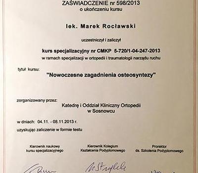 Certyfikat 52