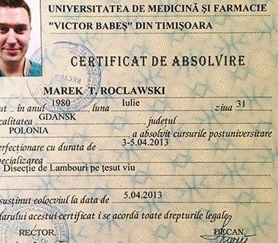 Certyfikat 54