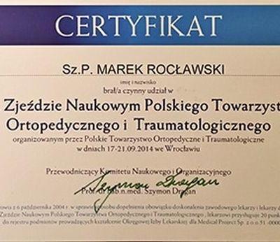 Certyfikat 58